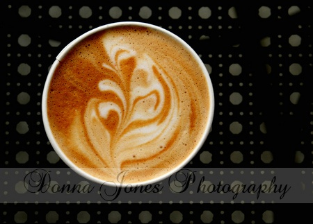 The latte I ordered not only tasted great...it was truly a work of art! I just had to share the beauty!